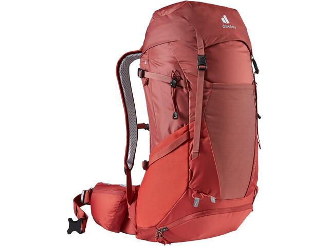 deuter Futura Pro 34 SL Backpack Women redwood/lava
